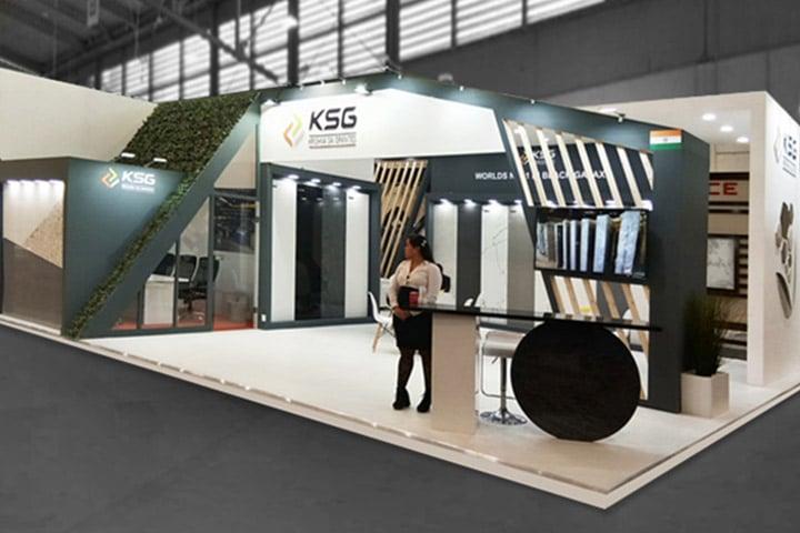 Stone Exhibition Stand Designer