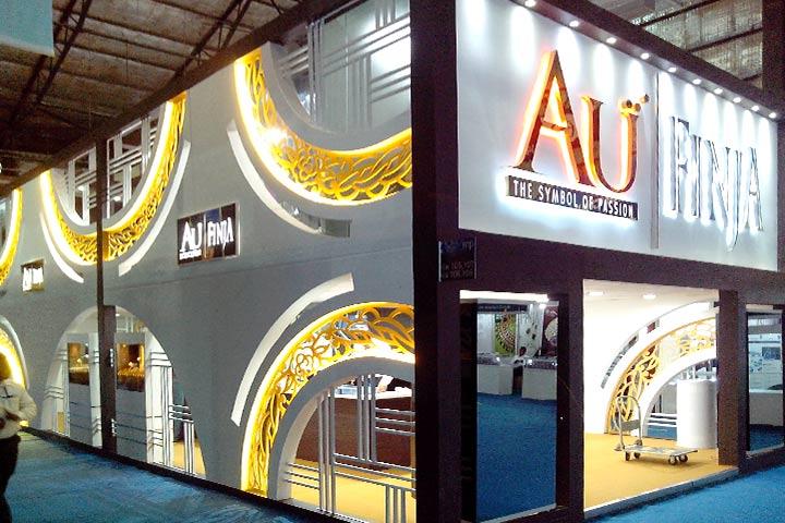 Mezzanine Exhibition Stall